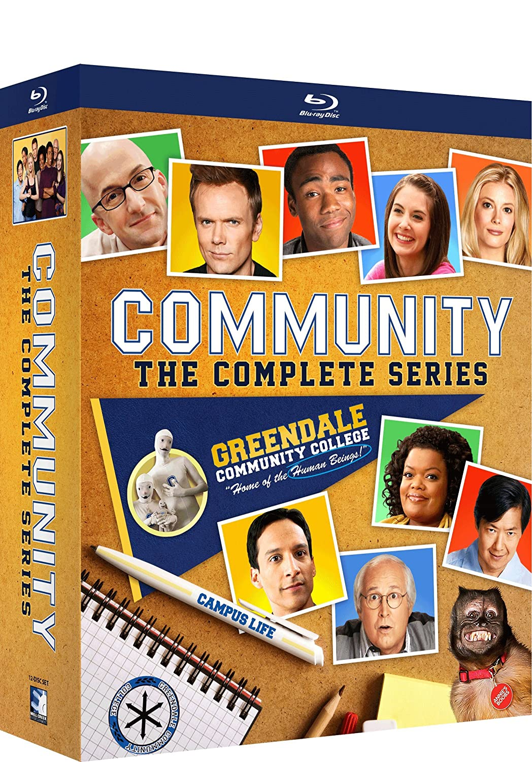 Community - The Complete Series - BD [Blu-ray] Joel McHale Chevy Chase Gillian Jacobs Alison Brie