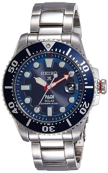 3. Seiko Prospex PADI Solar Dive Watch (SNE435P1)