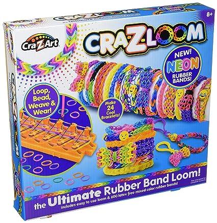 Amazoncom Cra Z Art Cra Z Loom Bracelet Maker Kit Toys Games