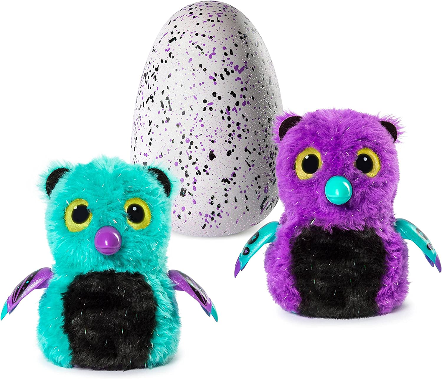 Hatchimals Glittering Garden Hatching Egg, Glitzy Bearakeet Exclusive Interactive Creature by Spin Master