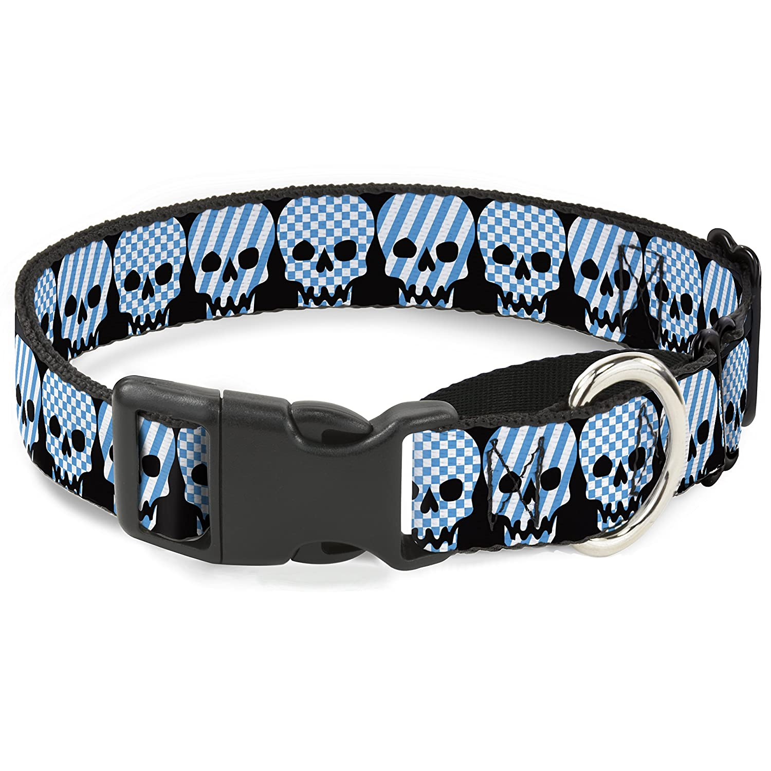 Buckle-Down MGC-W30377-WS Martingale Dog Collar, 1.5  Wide-Fits 13-18  Neck-Small