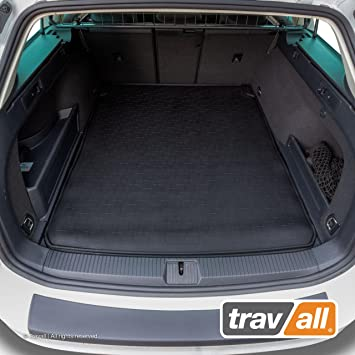 Ma/ßgeschneiderte Gep/äckraumeinlage mit Anti-Rutsch-Beschichtung Travall/® Liner Kofferraumwanne TBM1164