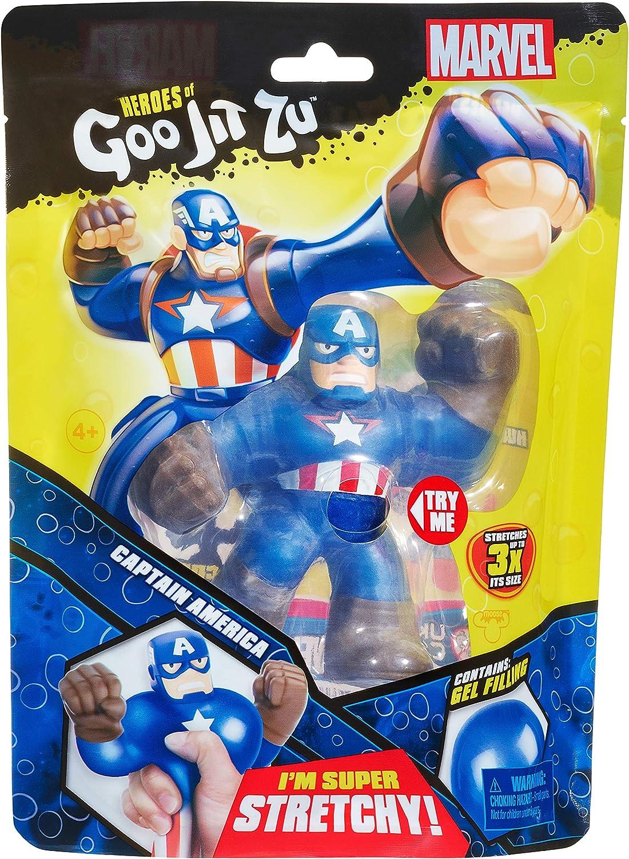 Gli eroi di Goo jit ZU-Marvel-Capitan America