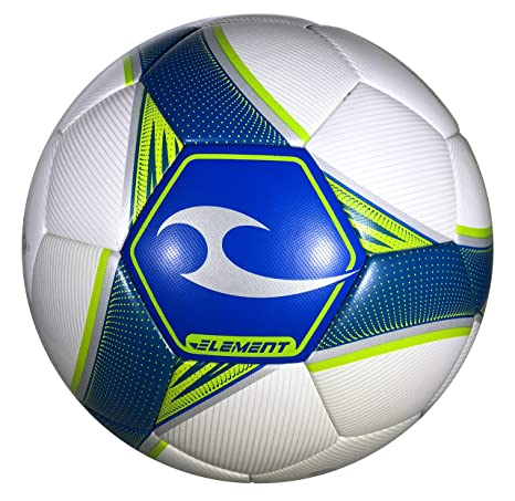 Elemento de Pelota de fútbol, Piel sintética, Color Blanco: Amazon ...