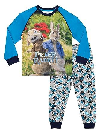 e8c90e2adcd7 Peter Rabbit Boys Beatrix Potter Pyjamas  Amazon.co.uk  Clothing