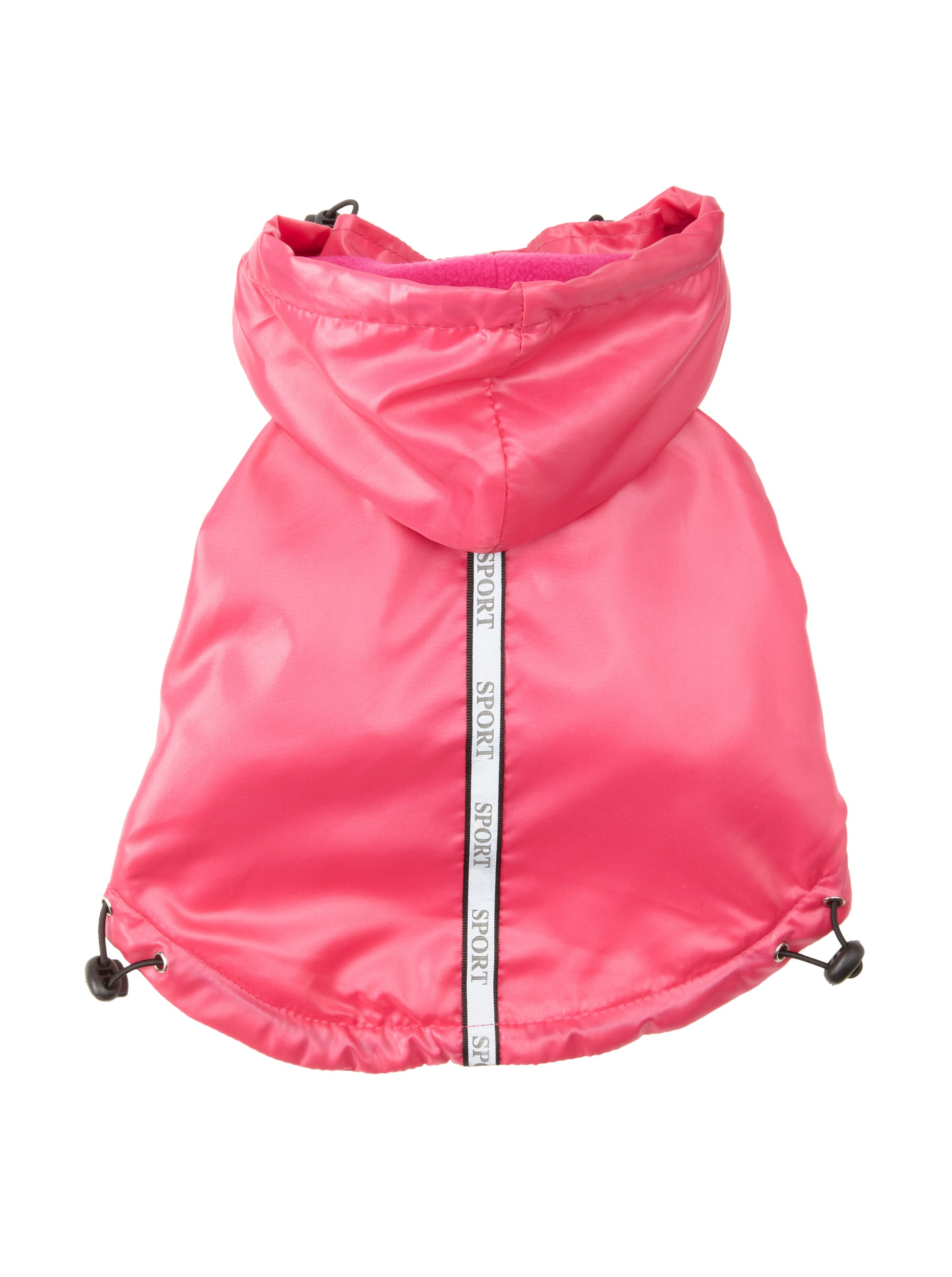 Pet Life Reflecta-Sport Rain Jacket And Windbreaker: Hot Pink, Small
