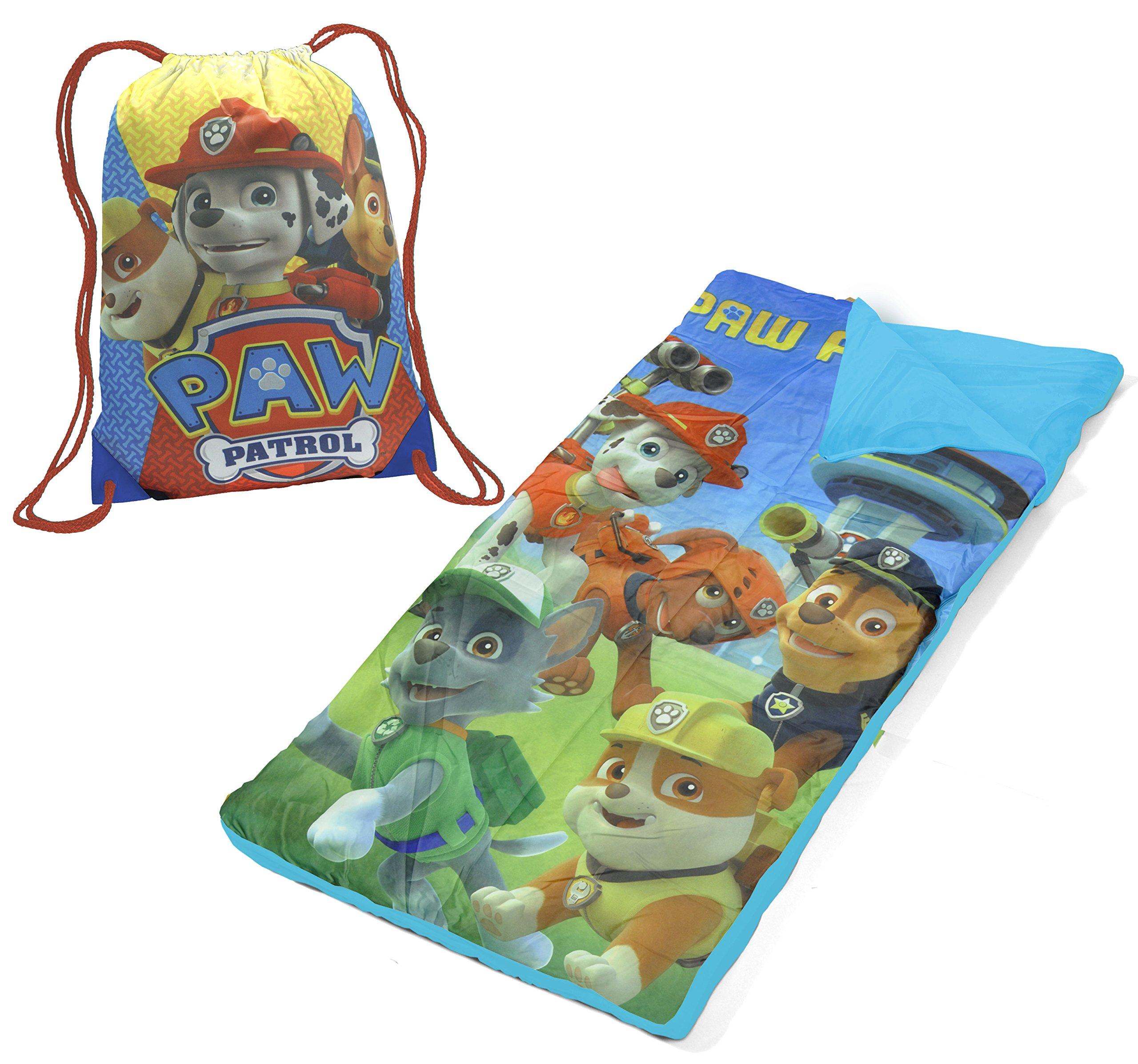 Nickelodeon Paw Patrol Drawstring Bag with Sleeping Sack by Nickelodeon