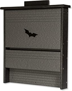 product image for DutchCrafters Amish Poly 20 Colony Bat House (Black & Gray)
