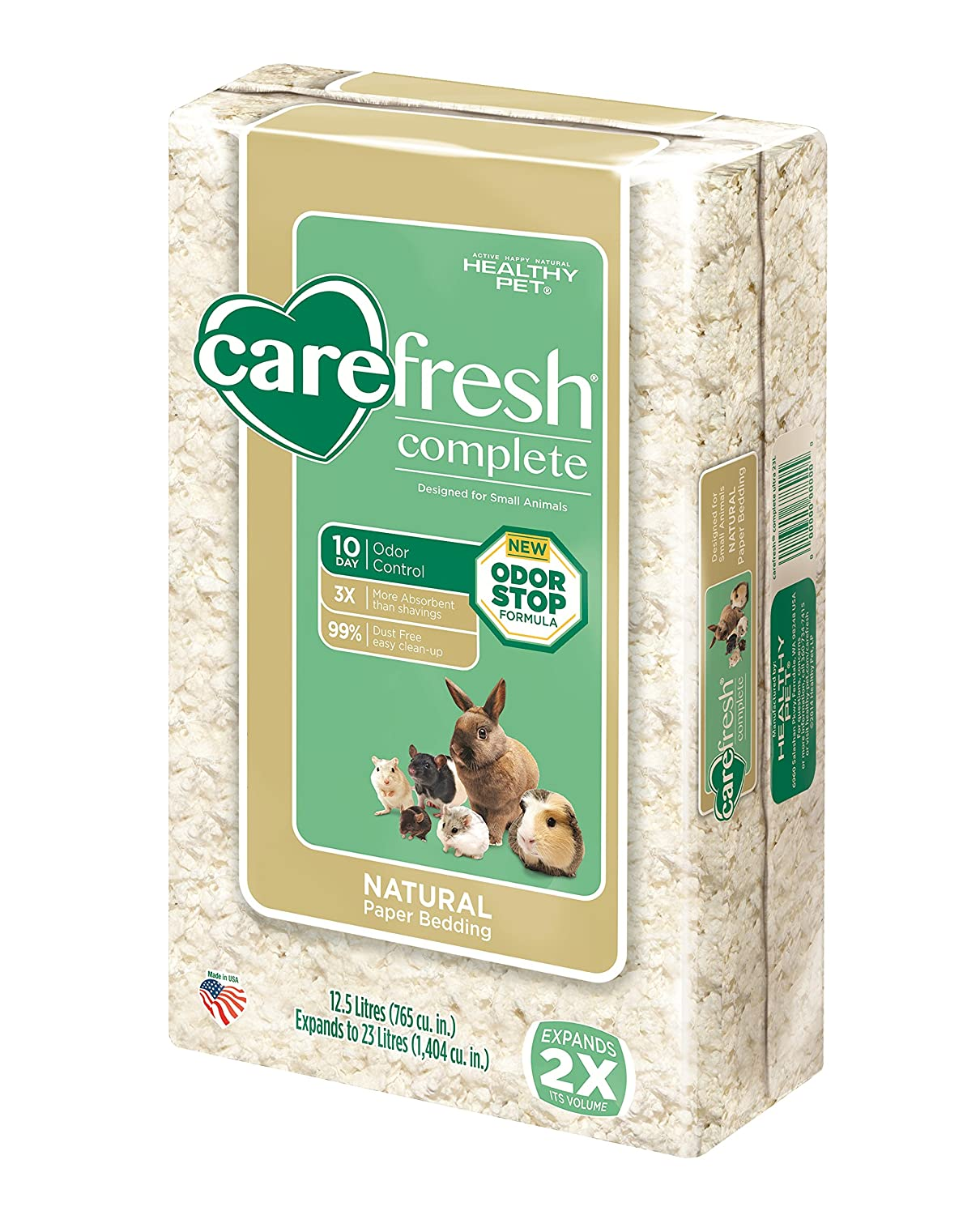 Carefresh Complete Ultra Pet Bedding, 23 L