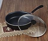 Cook N Home 11-Inch/4 Quart Nonstick Deep Saute Fry