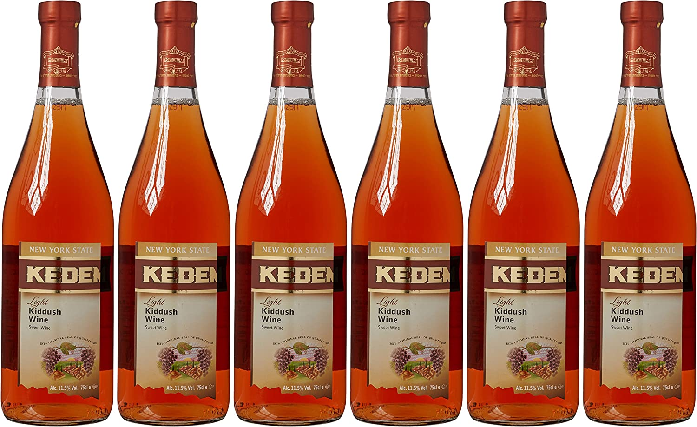 Kedem Light Kiddush Ruche Nv 75 Cl Kosher Case Of 6 Amazon Co Uk Grocery