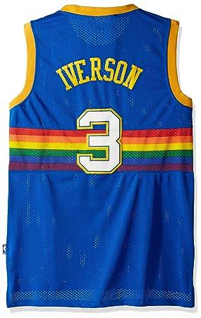3dc3aa609 Dikembe Mutombo Denver Nuggets Adidas NBA Throwback Swingman Jersey - Blue