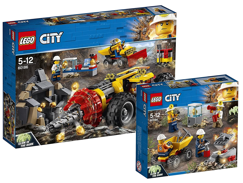 Lego City 60186 - Bergbauprofis Schweres Bohrgerät für den Bergbau City 60184 - Bergbauprofis Bergbauteam B07BJ8K4CW Bau- & Konstruktionsspielzeug Elegante und robuste Verpackung   Zuverlässiger Ruf