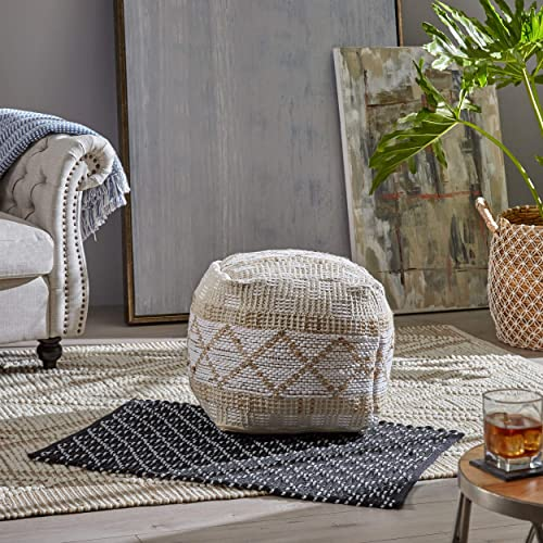 Christopher Knight Home Janet Cube Pouf