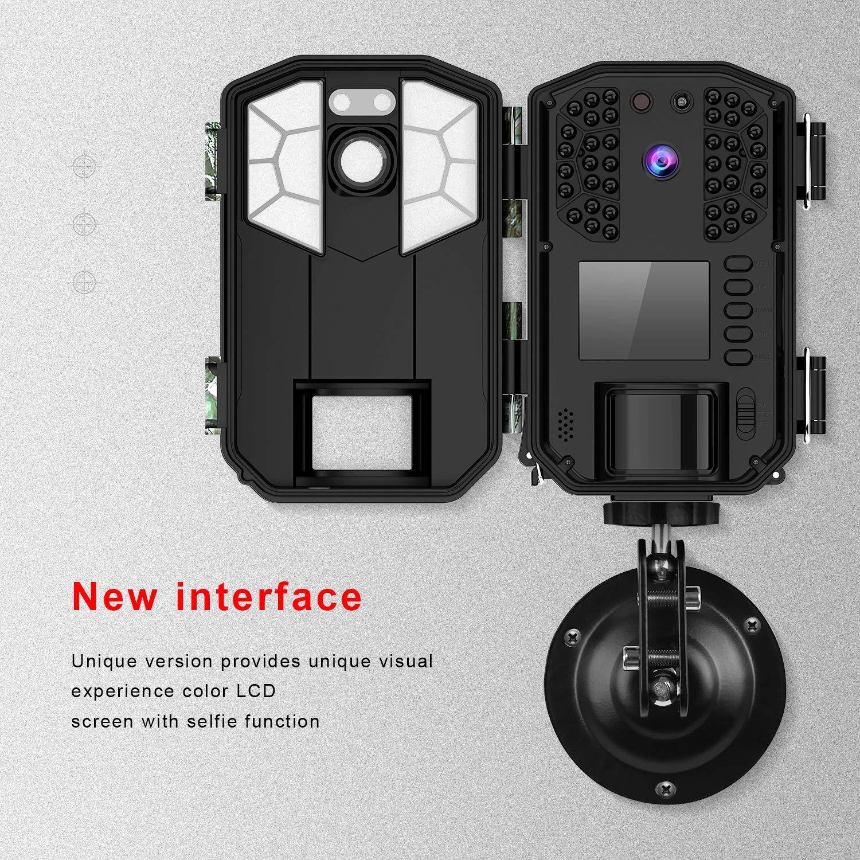 Camara Caza con 940nm Luz Invisible WiMiUS C/ámara de Caza Vigilancia 16MP1080P Cazar Camara Caza Nocturna Velocidad de Disparo de 0.6s de hasta 65 pies //20m Impermeable Ip66 para Vigilancia 40FPS
