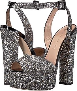 e36e38495ef Amazon.com  Giuseppe Zanotti Lavinia Leopard Platform Sandal (38)  Shoes