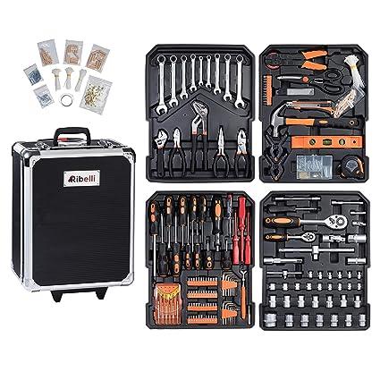 ribelli 899 piezas werkzeugtrolly, universal Juego de herramientas ...
