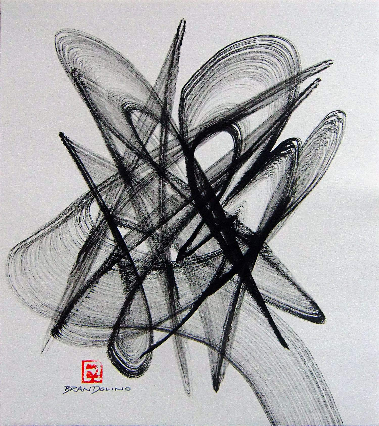 Brush Dance Series No. 20 by