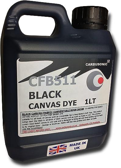 Tinte para restaurar capotas de coche y lonas, devuelve el color a los tejidos