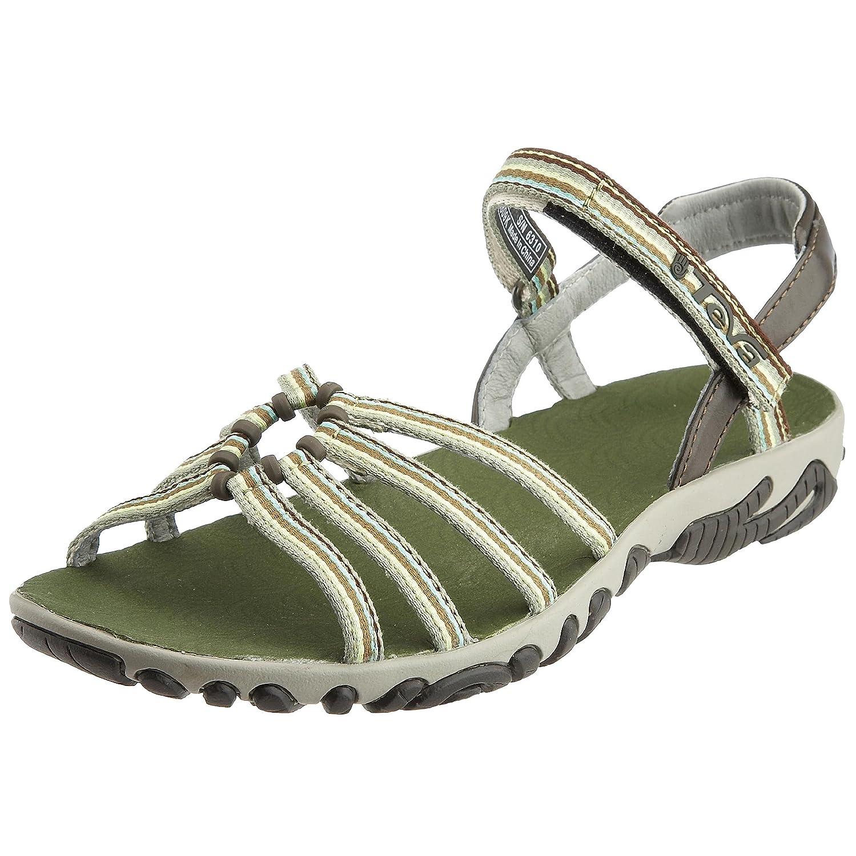 ef335a6287757 Teva Teva Womens Kayenta Walking Hiking Summer Sandal Pesto 5.5
