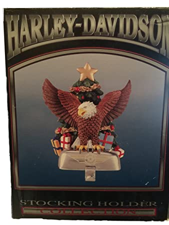 Amazon Com Harley Davidson Eagle In Front Of Christmas Tree
