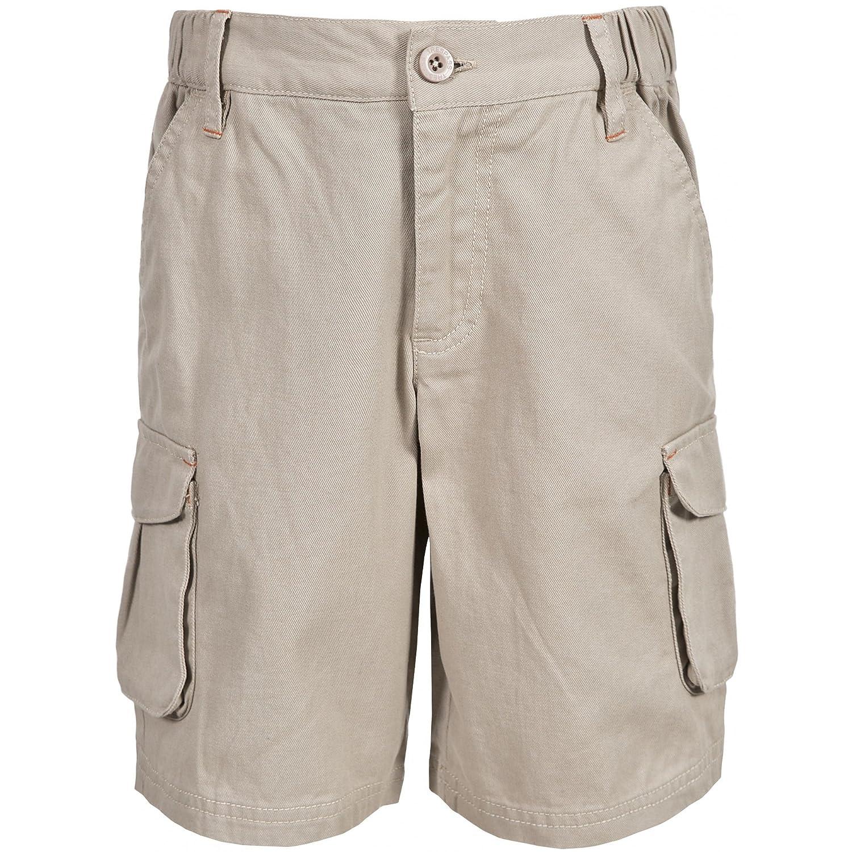 Trespass Boys Dolton Full Cotton Cargo Walking Shorts