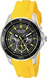 Nautica Men's NAD13520G NST 10 Analog Display Quartz Yellow Watch