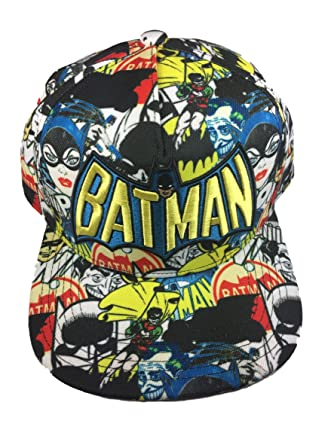 4ff361eff81 Image Unavailable. Image not available for. Color  Multi Batman Batgirl and  Robin Snapback Hat