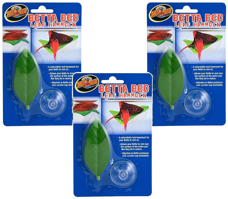 amazon      3 pack  betta bed leaf hammock   pet supplies  rh   amazon