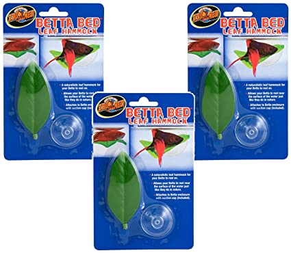 3 pack  betta bed leaf hammock amazon      3 pack  betta bed leaf hammock   pet supplies  rh   amazon