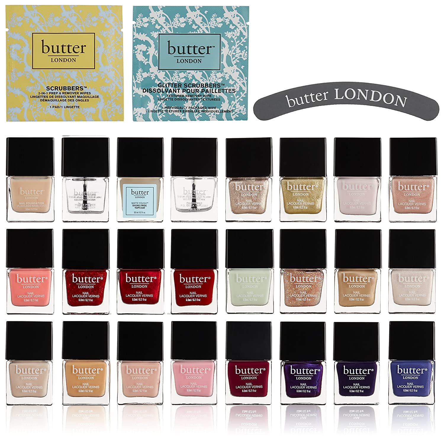 Amazon com: butter LONDON Velvet Rope VIP Set: Luxury Beauty