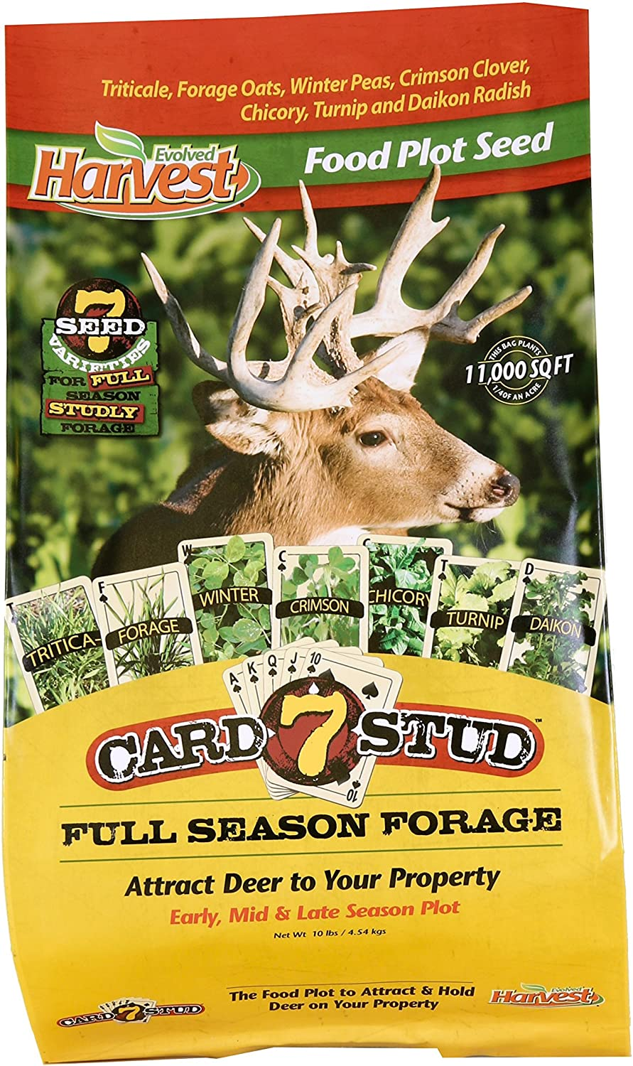 Evolved Harvest 5 Card Draw 10 Lb Bag