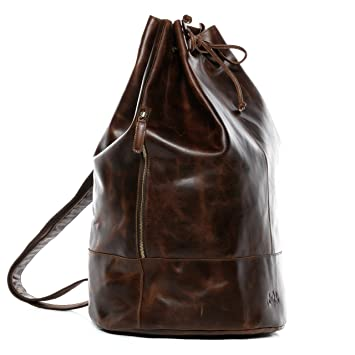 Sac marin marron New York zasfqmY