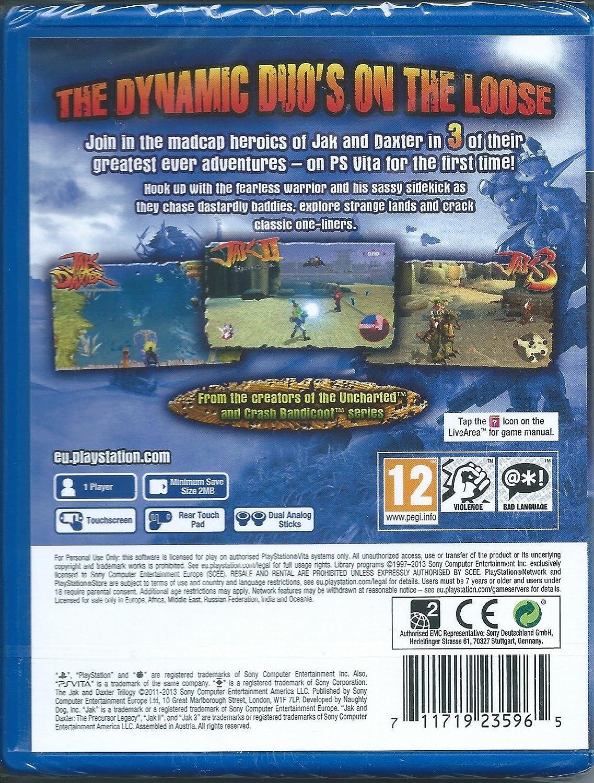 Amazon.com: Jak and Daxter Trilogy (Playstation Vita): Video Games