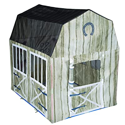"""Pacific Play Tents 60805 Happy Horse Haven Play House, Play Tent - 48"""" x 38"""" x 48"""": Toys & Games"""