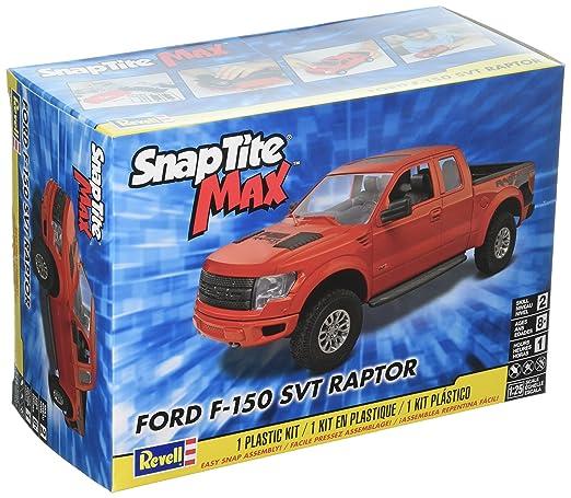 Revell Snaptite Max Ford F  Svt Raptor Pick Up Model Kit