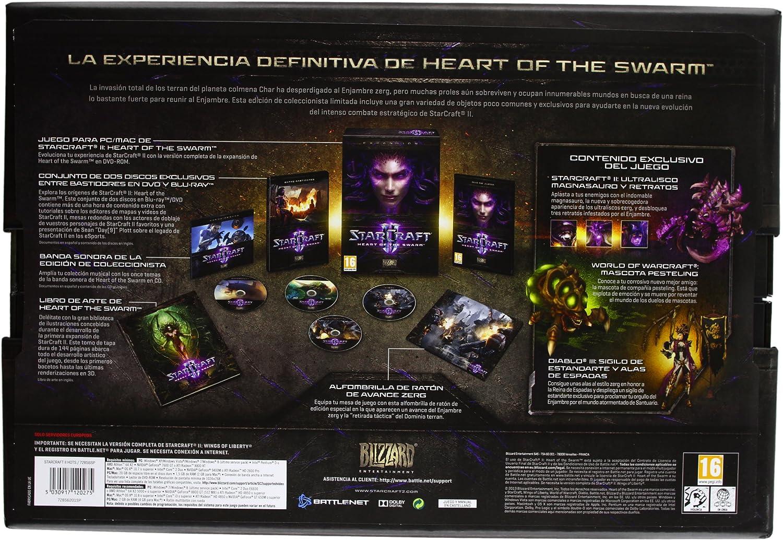 StarCraft II: Hearts Of The Swarm - Edición Colecionista: Amazon.es: Videojuegos