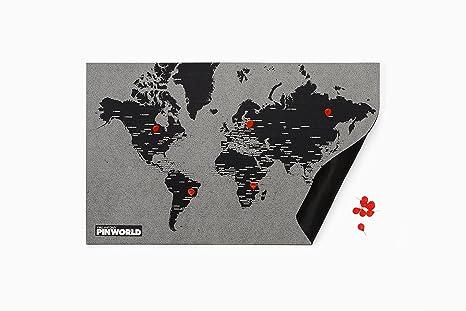 amazon com palomar pin world mini world map mini 77 cm x 48 cm
