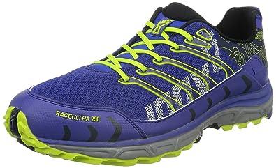 Inov-8 Men's Race Ultra 290 Running Shoe,Navy/Lime,Mens 10