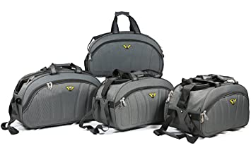 a59250ce0ed8 Image Unavailable. Image not available for. Colour  Falcon Plus Fabric  Daniel Duffle Trolly Bag ...