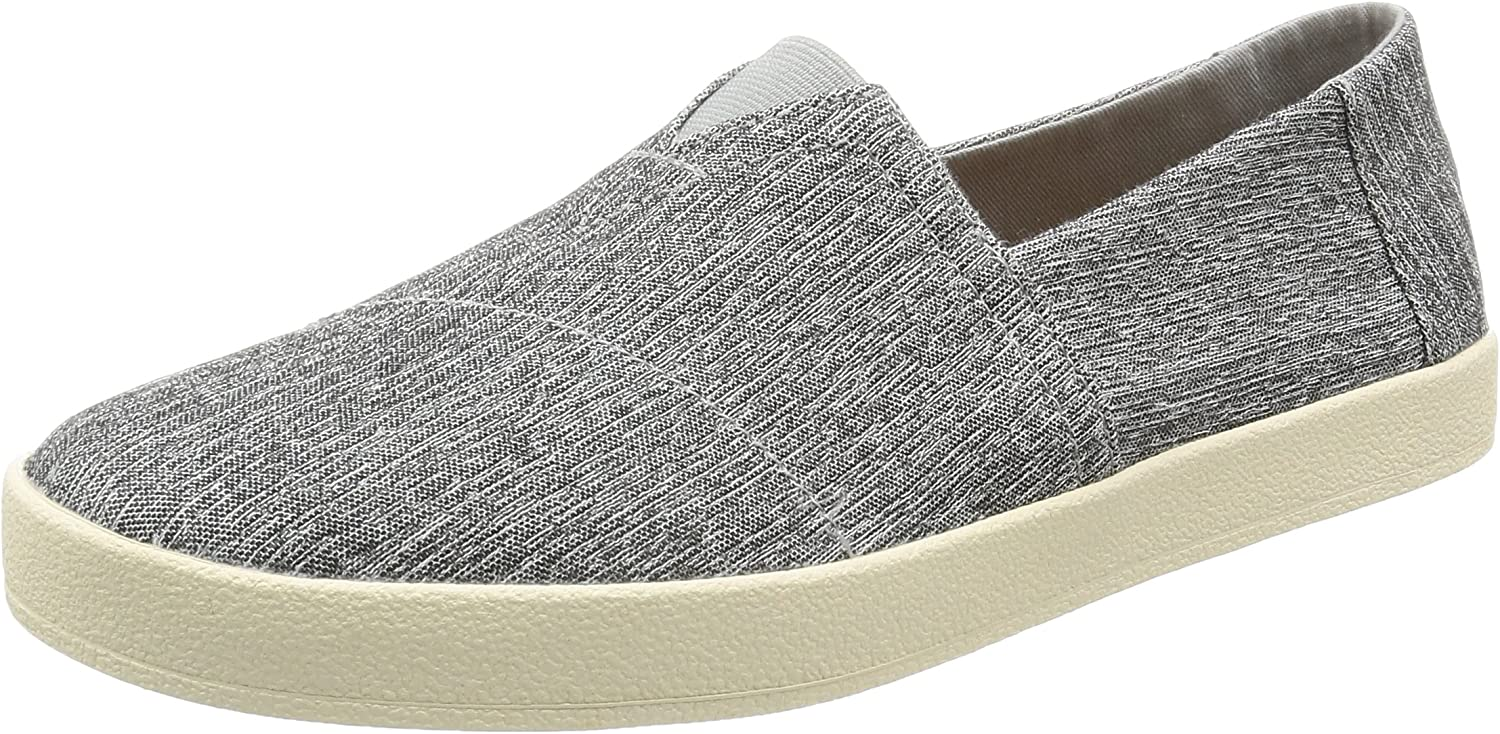 TOMS Men's Avalon Space-Dye Ankle-High Canvas Flat Shoe