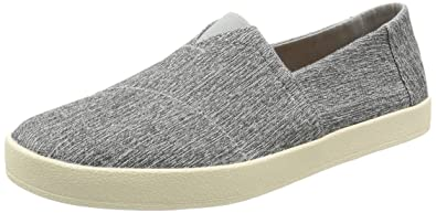 b4860e3a012 TOMS Men s Avalon Slip-On Forged Iron Grey Space-Dye Loafer