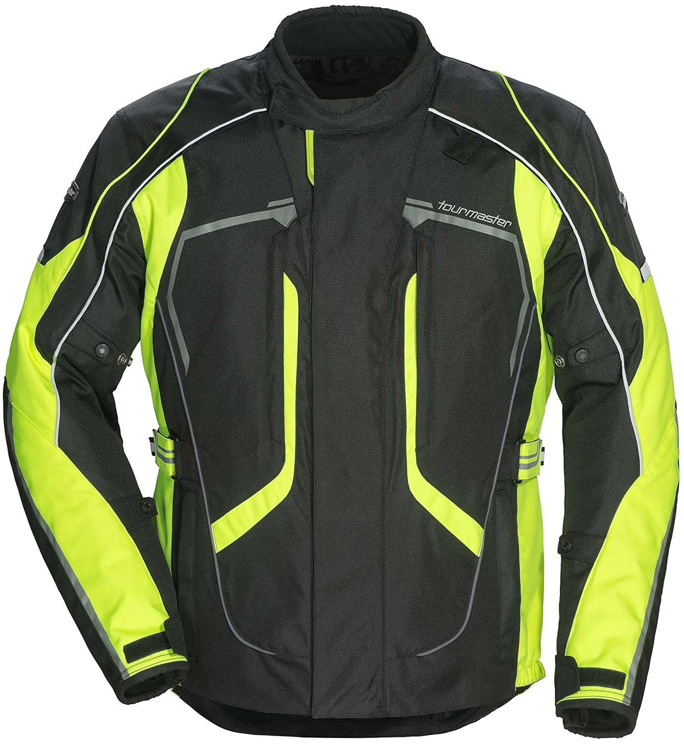 Tourmaster Advanced Men's Textile Motorcycle Jacket (Black, Tall X-Large) 8736-0105-17