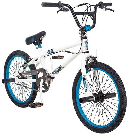 235acfb6a398 Amazon.com : Mongoose Boy's Crush Freestyle Bike, 20-Inch, White ...
