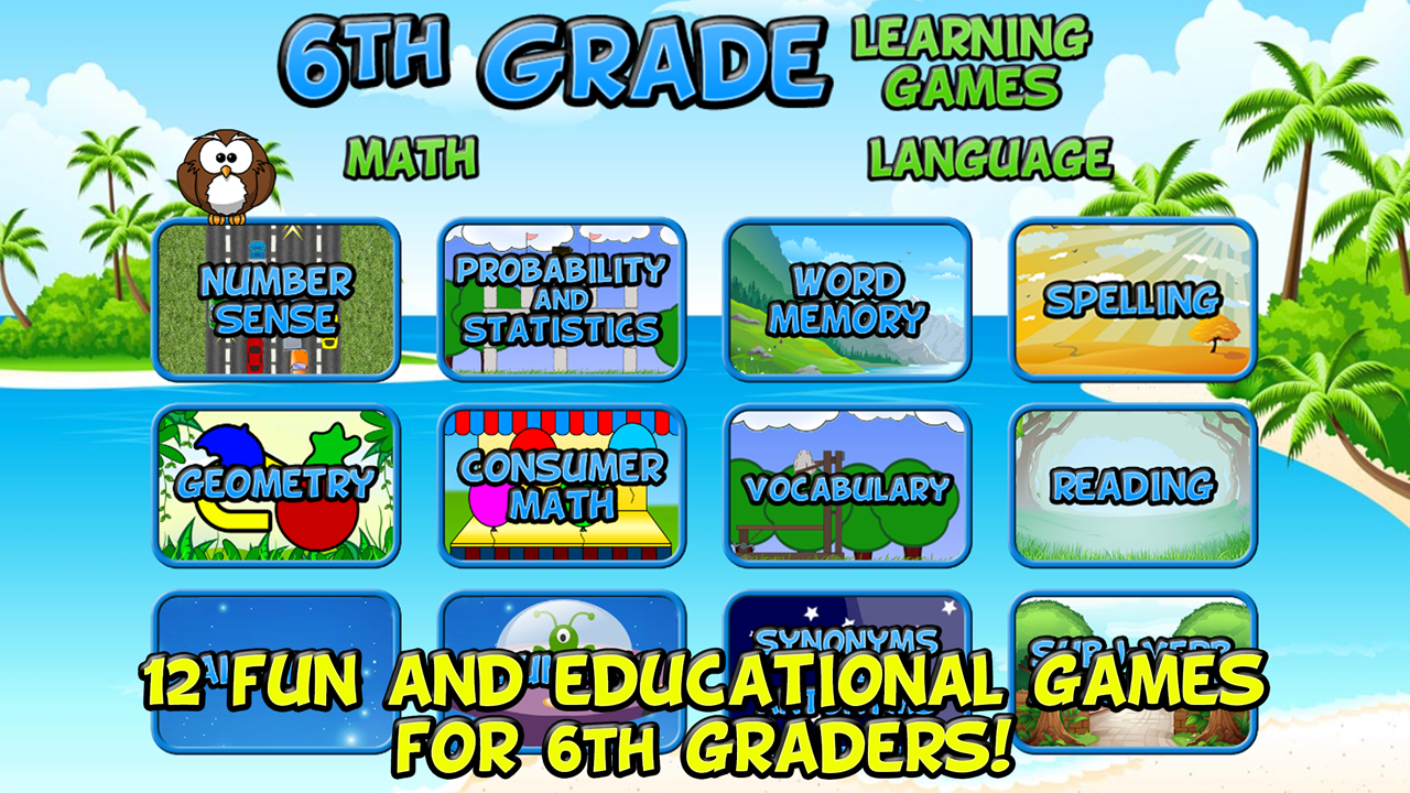 Amazon.com: Sixth Grade Learning Games (Underground): Appstore for ...
