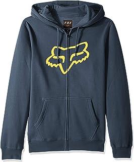 0100d7f2a722e Fox Men's Standard Fit Legacy Logo Zip Hooded Sweatshirt