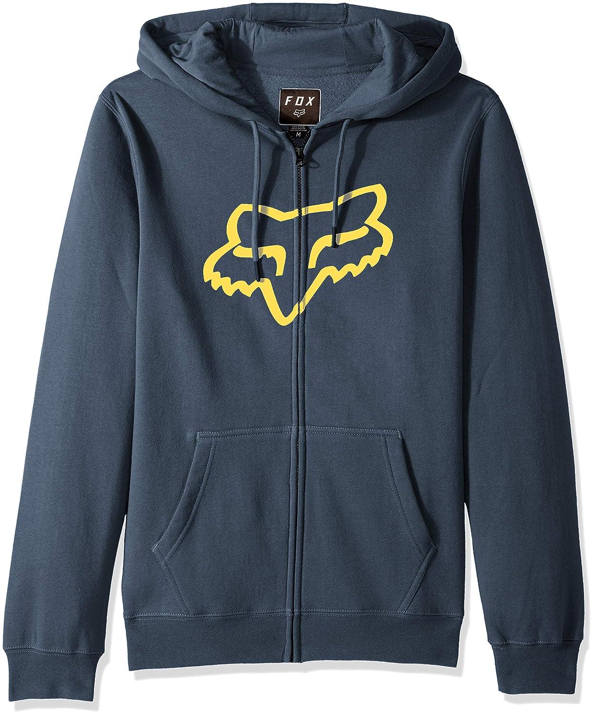 Fox Men's Standard Fit Legacy Logo Zip Hooded Sweatshirt 20766-007-XL