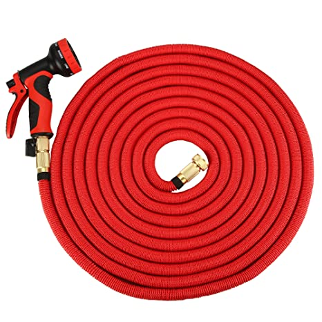 HQMaster 75FT Garden Hose Expandable Hose Flexible Water Hose Expanding Watering Hose Rubber Antiskid Handle  sc 1 st  Amazon.com : water hose handle - www.happyfamilyinstitute.com