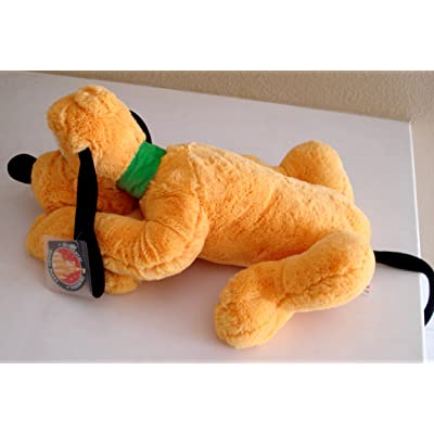 Pluto Jumbo Super Soft Plush - 18 Inches From Nose to Back - Tail Is 10 Inches: Toys & Games