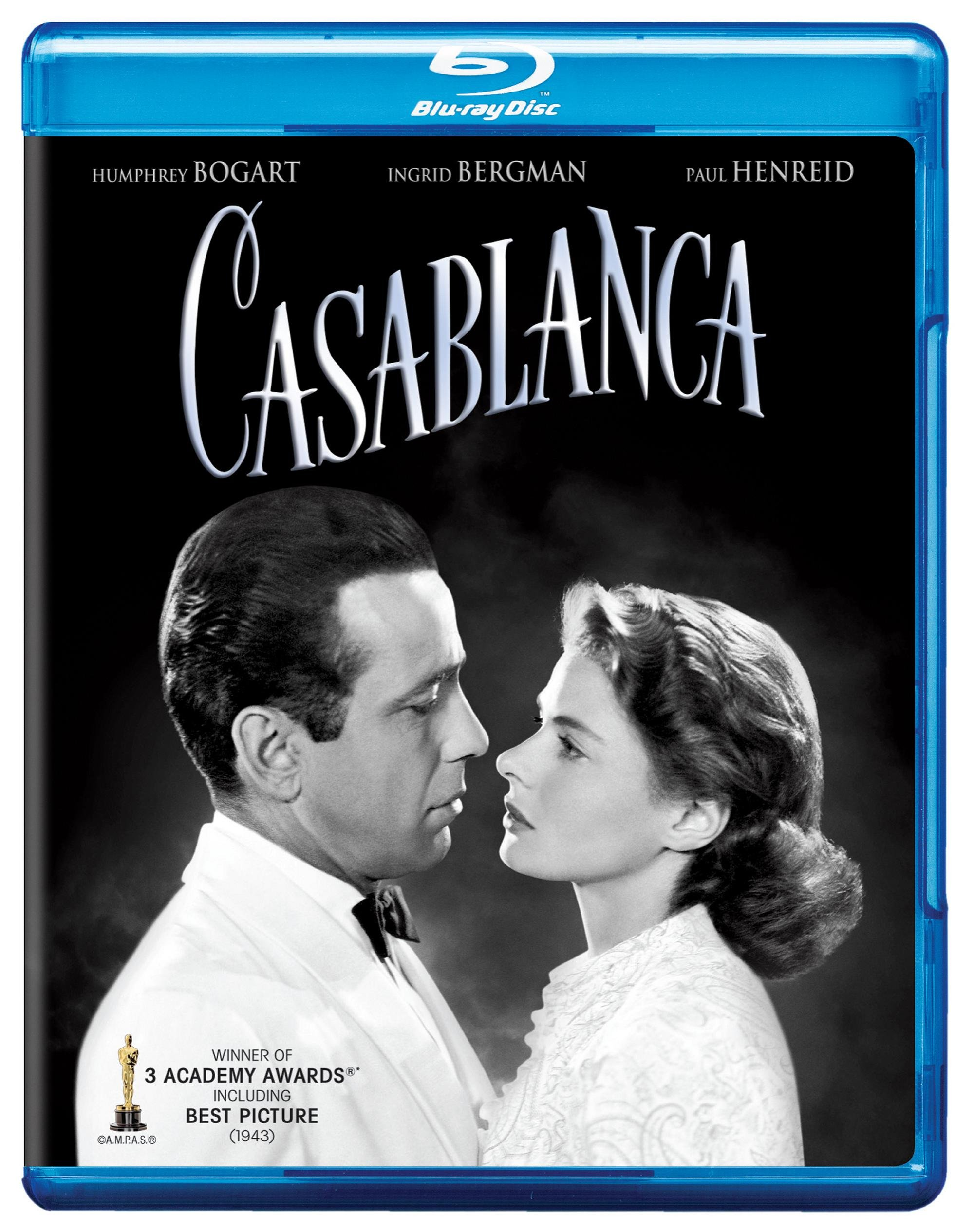 Blu-ray : Casablanca (Anniversary Edition, Remastered)